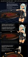 MMD Alice's Stage Set Instructions by Trackdancer