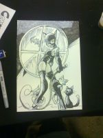 Catwoman commission by NachoMon