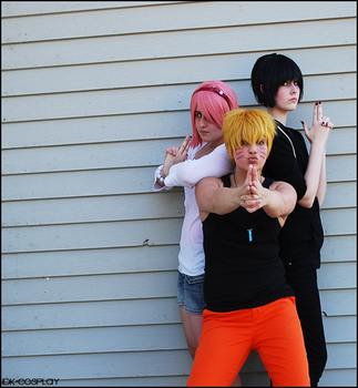 Team 7 Angels by IDK-Cosplay