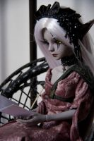 Quietly reading by Bloodstained-Snow