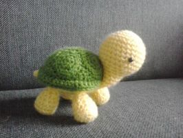 Little Tortoise by sylver1984