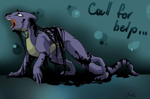 Call for help by Shundis