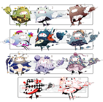 [CLOSED] ADOPT SET PRICE 170 - Reflections by Piffi-adoptables