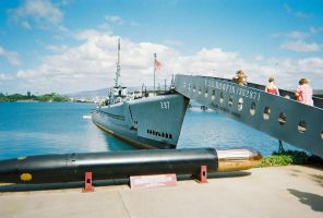 USS Bowfin SS-287 3 by Pwesty