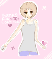 Thanks for 400+ watchers by Sunny-Winter-Star
