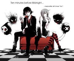 -Ten minutes before midnight- by R-SRaven