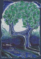 Memory Trees : Card Five by impluvium