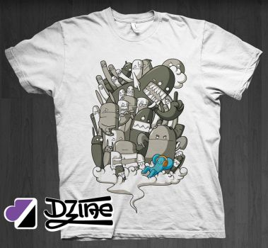 All I Need Is Music by DzineClothing