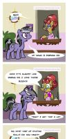 Cutie Mark Fail: Darning Do by JoieArt