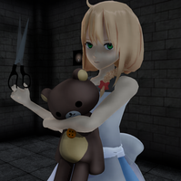 [MMD] The Witch's House by VioletCrystal259