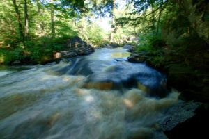 Waterfall of Eau Claire Creek by aRt2faKt