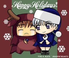 Shadow Hearts: Christmas. by Yuri-and-Alice