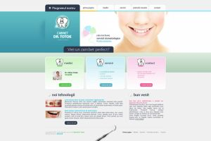 Dr. Totok website by anca-v