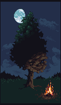 Lonesome Tree by PiXEL-iMP