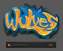 Wulves Logo Design by LanotDesign