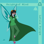 Knight of Mind by Izzydactyl