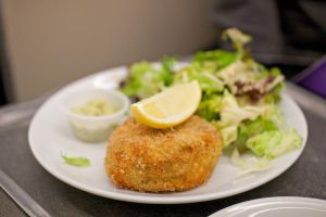 Salmon fish cake by patchow