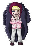 One Piece - Corazon chibi by I-Luv-Emoboys