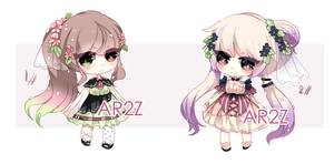 [CLOSED] Thundrel 20-21 [Auction] by aririzia