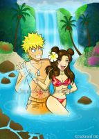NaruTen: Tropical Fun Full-Size by JuPMod
