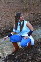 Korra Cosplay 2 by Featherwolf-Pluma