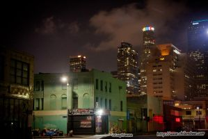 L.A at night by captnemo42