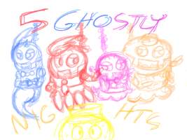 Five Ghostly Nights [UNFINISHED] by ArtLovingCatGirl