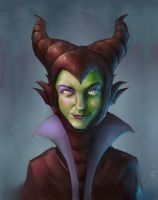 Maleficent by StewartMortimer