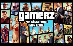 Grand Theft Auto Gamerz Wallpaper HD by maximumsohan