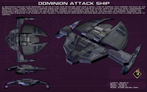Dominion Attack Ship ortho [New] by unusualsuspex