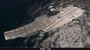 'Samurai' Heavy Aircraft-Carrying Missile Cruiser by Helge129