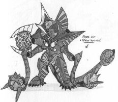 Giganoid 7: From the New World by Kainsword-Kaijin
