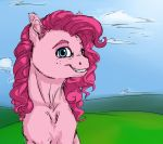 Pinkie Bright -Redraw- by Iguanodragon