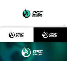 Esc hosting logo by t1na