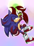 Shaundre the Hedgehog +.. Charging up ..+ by Xx-JungleBeatz-xX