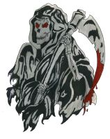 The Grim Reaper by celticknight