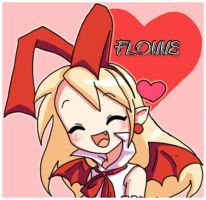Fallen Angel Flonne-chan by Digiko