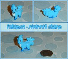 Fakemon - Riverret Charm by YellerCrakka