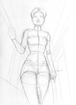 Unpublished Sketch n5 by CintiaGonzalvez
