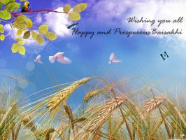 Happy Baisakhi by manicolorz