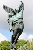 Angel and Soldier by zootnik