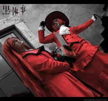 Grell kills Madame Red by MagicViper
