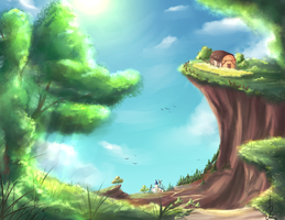 Landscape Practise by cytes