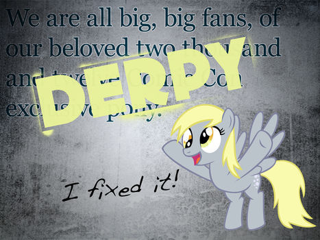 We are all big big fans of... by Skeptic-Mousey