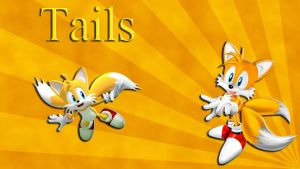Tails Wallpaper by JanetAteHer