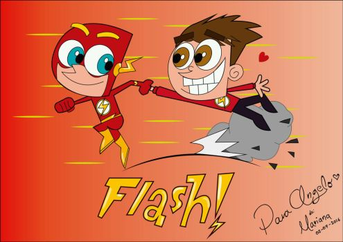 Flash! by DulcePanda