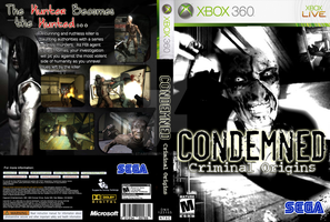 Condemned Custom Cover by StarfireEspo