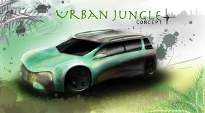 Urban jungle concept (IB personal project) by keegancheok