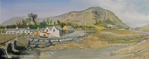 Leenane Village, County Galway Ireland by SuzanneHole