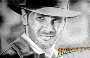 Indiana Jones by FinnViking